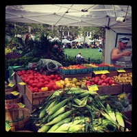 Photo taken at Copley Square Farmer's Market by Tyler S. on 8/22/2012
