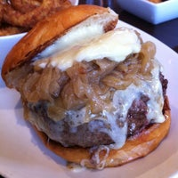 Photo taken at 5 Napkin Burger by Franco C. on 2/10/2012
