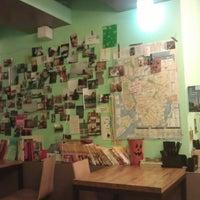 Photo taken at Cafe 봄 by Hyelim K. on 6/28/2012