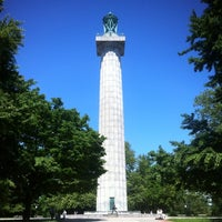 Photo taken at Fort Greene Park by Juston P. on 5/18/2012