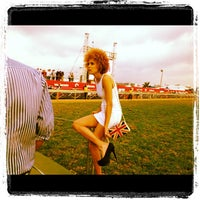 Photo taken at Greyville Racecourse by Arthur Charles V. on 7/17/2012