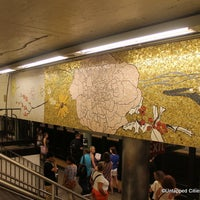 Photo taken at MTA Subway - 77th St (6) by Untapped Cities on 7/27/2012