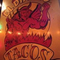 Photo taken at El Diablo Tacos by danielle m. on 8/26/2012