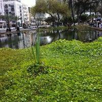 Photo taken at Rabin Square by Liav V. on 3/31/2012