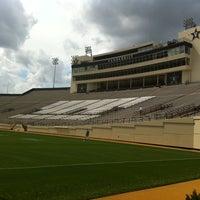 Photo taken at Vanderbilt Stadium - Dudley Field by mr noodle™ on 3/17/2012