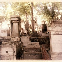Photo taken at Père Lachaise Cemetery by Robert v on 8/17/2012