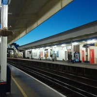 Photo taken at Staines Railway Station (SNS) by ♬ on 12/26/2011