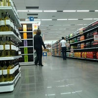 Photo taken at Supermercado Angeloni by Thierry R. on 8/4/2012