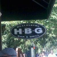 Photo taken at Healdsburg Bar & Grill by Anthony B. on 9/24/2011