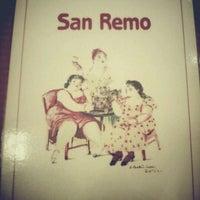 Photo taken at San Remo Pizzeria by Megumi on 10/26/2011