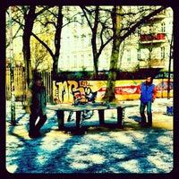 Photo taken at Helmholtzplatz by Karsten W. on 2/12/2012