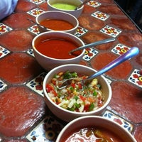 "Photo taken at Taquería La Lupita ""Ayuuk"" by Elhy I. on 7/4/2012"