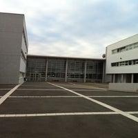 Photo taken at Lycée Jehan de Chelles by Feufeuil N. on 10/12/2011