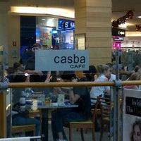 Photo taken at Casba Cafe by Ken G. on 12/27/2011