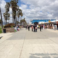 Photo taken at Venice Beach Boardwalk by Reesie S. on 4/14/2012