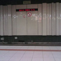 Photo taken at Premetrostation Astrid by Debby C. on 10/25/2011