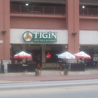 Photo taken at Tigín Irish Pub and Restaurant by Henderson S. on 10/23/2011