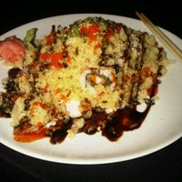 Photo taken at Haru Sushi Bar & Grill by Katie C. on 10/5/2011