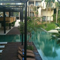 Photo taken at Centra Taum Resort Seminyak by Jeffri ح. on 12/30/2011