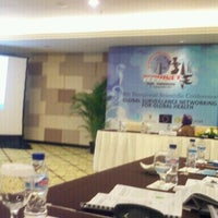 Photo taken at Bali Nusa Dua Convention Center (BNDCC) by Edhie R. on 11/8/2011