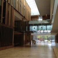 Photo taken at John E. Jaqua Academic Center by Tobin C. on 5/1/2012