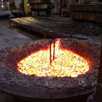 Photo taken at Columbia Steel Casting Co., Inc. by Christiaan M. on 5/24/2012