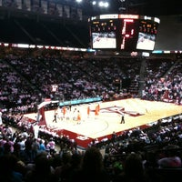 Photo taken at Reed Arena by Pam P. on 2/19/2012