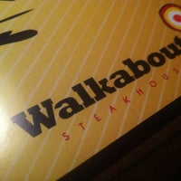 Photo taken at Walkabout Steakhouse by Cleverson on 8/14/2012