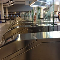 Photo taken at Gautrain Sandton Station by William P. on 5/15/2012