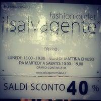 Photo taken at Il Salvagente Milano | Fashion Outlet by dikkone on 7/16/2012