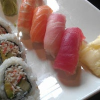 Photo taken at RA Sushi by Chris F. on 7/26/2012