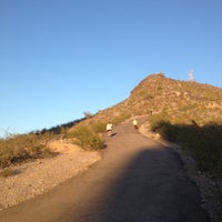 "Photo taken at ""A"" Mountain (Hayden Butte Preserve) by Lauren F. on 3/21/2012"