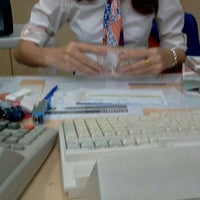 Photo taken at Bangkok Bank by Panida B. on 3/28/2012