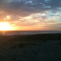 Photo taken at Moss Landing State Beach by Beth B. on 8/18/2012
