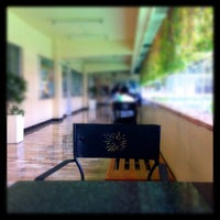 Photo taken at De La Salle - College of Saint Benilde by Kristine R. on 2/2/2012