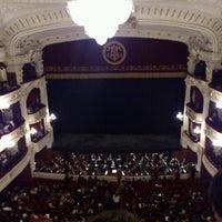 Photo taken at Teatro Municipal de Santiago by Juan Manuel T. on 5/11/2012