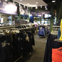 Photo taken at Brewers Team Store by Majestic Athletic by Phillip S. on 4/3/2012