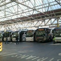 Photo taken at Victoria Coach Station by Vic C. on 9/11/2012