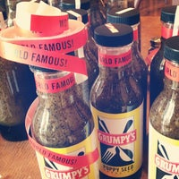 Photo taken at Grumpy's Restaurant by UPSO on 7/25/2012