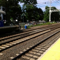 Photo taken at Metro North - Milford Train Station by Heather C. on 7/27/2012