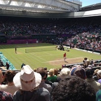 Photo taken at Centre Court by David F. on 8/3/2012