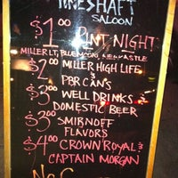 Photo taken at Mineshaft Saloon by Gary F. on 8/19/2011