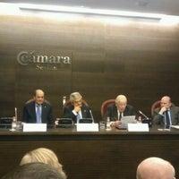 Photo taken at Cámara de Comercio de Sevilla by Antonio F. on 1/19/2012