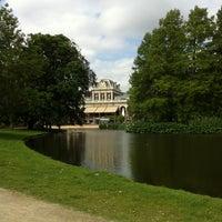 Photo taken at Vondelpark by melinda V. on 5/29/2011
