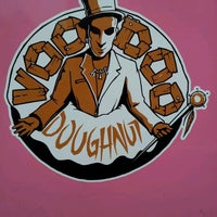 Photo taken at Voodoo Doughnut Too by Valerie W. on 12/10/2011