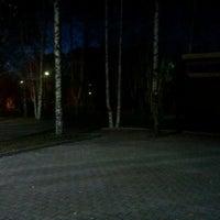 Photo taken at Пруд в ЦПКиО by Alex V. on 10/22/2011