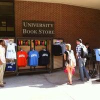 Photo taken at University of Memphis Bookstore by Jennifer L. on 2/27/2012