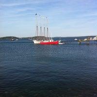 Photo taken at Bar Harbor Pier by Natalia on 7/23/2011