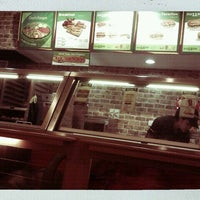 Photo taken at SUBWAY by Ibrahim R. on 10/26/2011