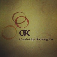 Photo taken at Cambridge Brewing Company by Drew S. on 5/4/2012